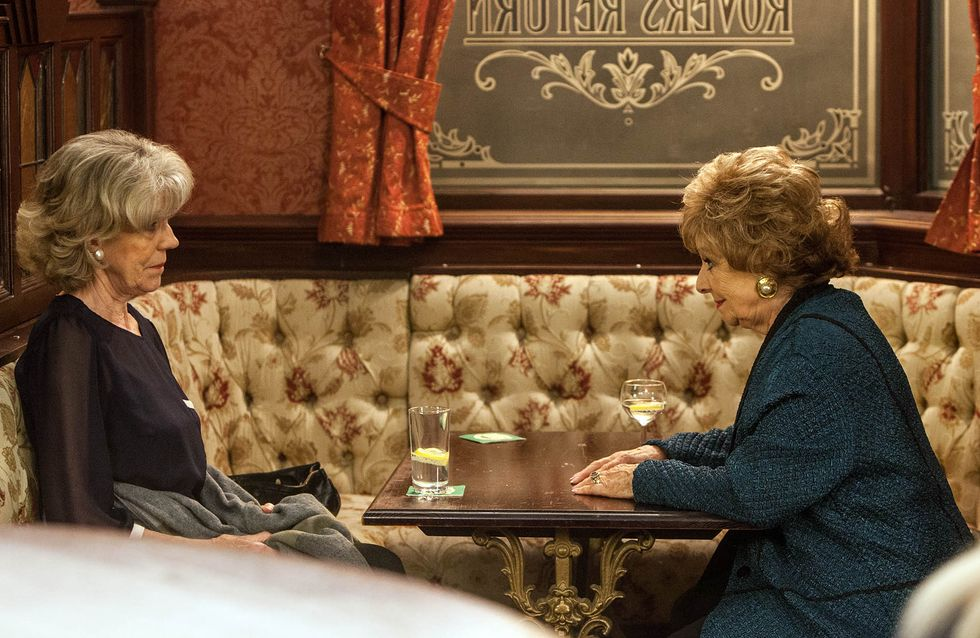 Coronation Street 06/11 - Rita urges Audrey to follow her heart