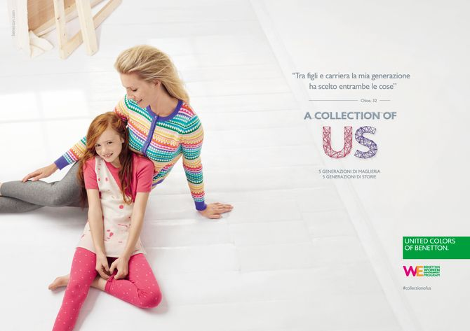 United Colors of Benetton: A collection of us