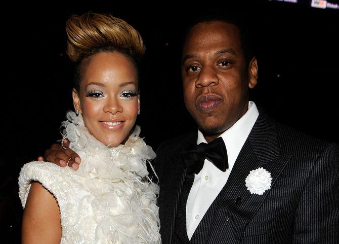 Rihanna et Jay-Z.
