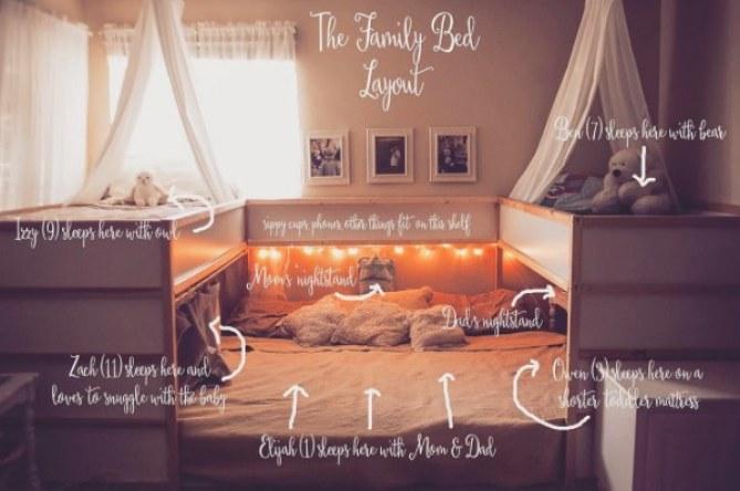 Le lit géant d'Elizabeth