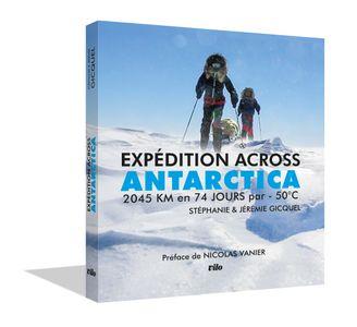"Livre ""Expedition across Antarctica"""