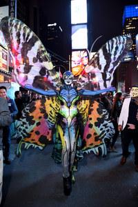 Le costume très coloré d'Heidi Klum en 2014
