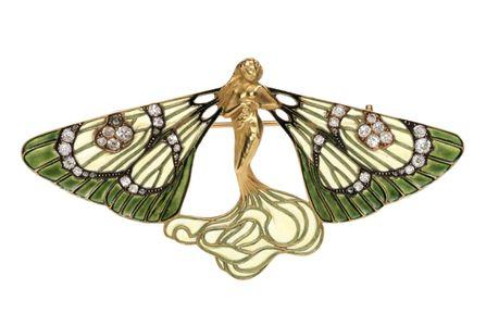 Spilla René Lalique