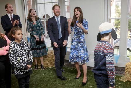 Kate Middleton, le prince William et le prince Harry