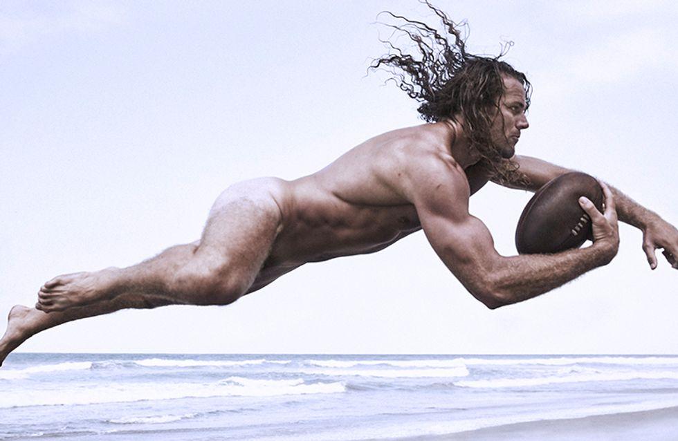 El cuerpo al desnudo de los mejores deportistas