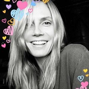 Heidi Klum sans maquillage.