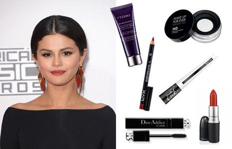 Copia el maquillaje de Selena Gómez