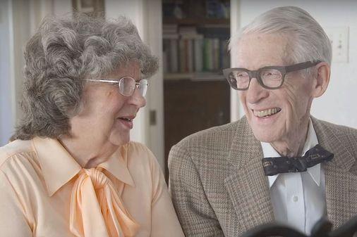 Ces grands-parents reproduisent Là-Haut pour leurs 60 ans de mariage