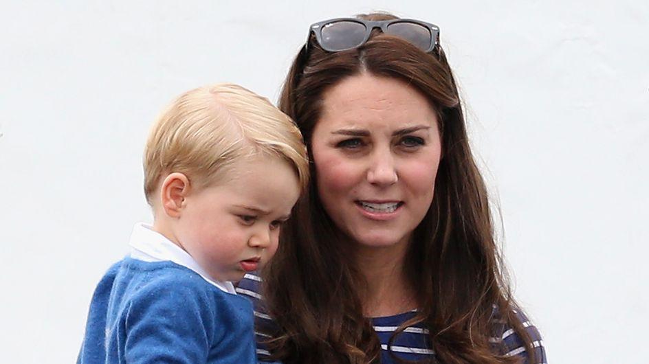Kate Middleton et le prince George, adorable duo au musée