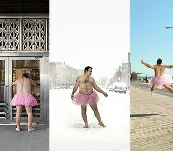 This Guy Rocks A Pink Tutu To Support His Cancer-suffering Wife & It's Brilliant