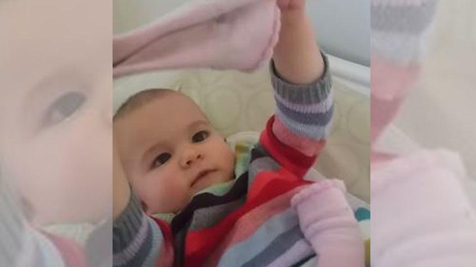 Mit einem süßen Versprecher macht dieses Baby seine Eltern sprachlos