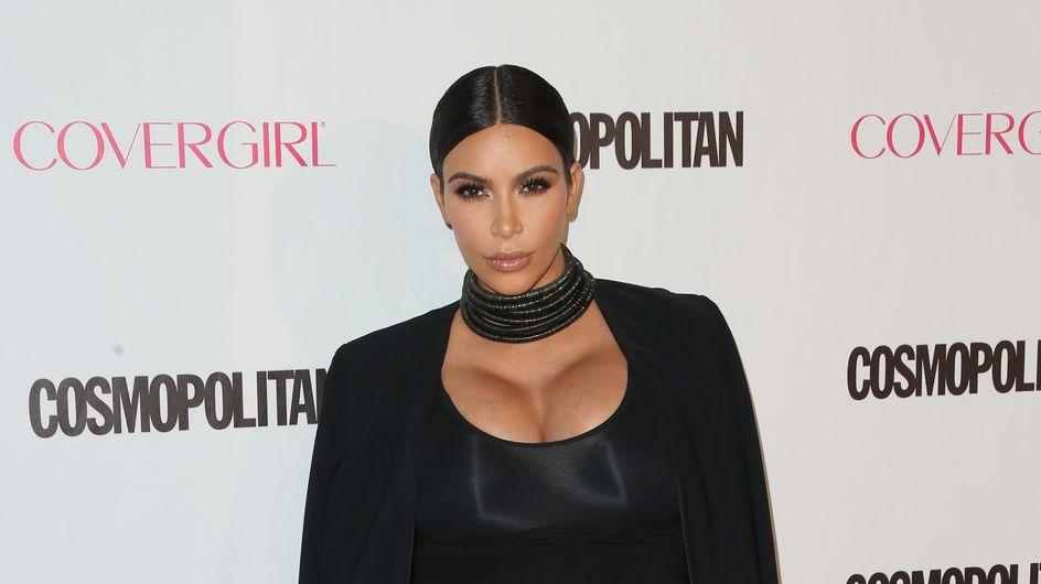 "Enceinte de 7 mois, Kim Kardashian se compare à ""une baleine"""