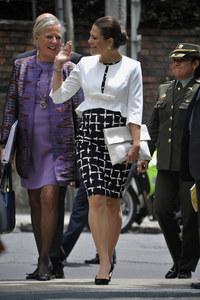 La princesse Victoria en Colombie