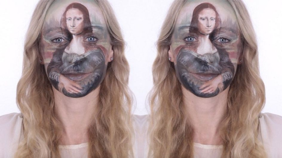 This Make-up Artist Turns Her Face Into A Mona Lisa Masterpiece and It Actually Looks Like The Real Deal