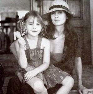 Drew Barrymore et sa mère.