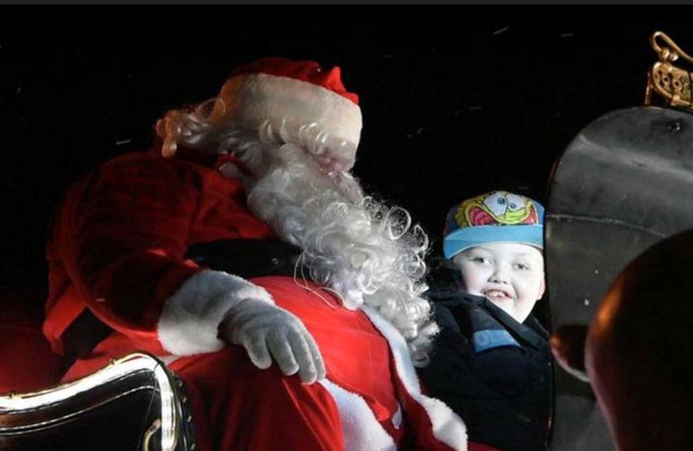 Un pueblo adelanta dos meses la Navidad para que un niño enfermo de cáncer pueda disfrutarla