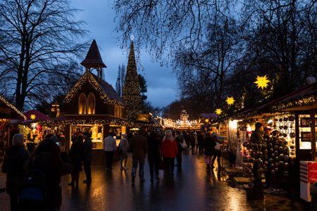 Mercado navideño de Winter Wonderland, en Hyde Park