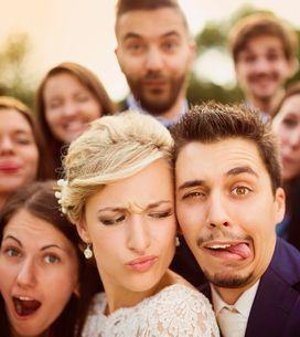 25 foto di matrimonio originali e sorprendenti!