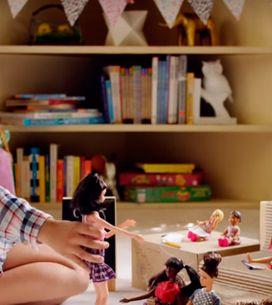 Meninas empoderadas na campanha da boneca Barbie! Você viu?