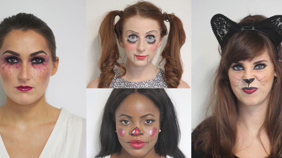 Easy Halloween Makeup Looks You Can Actually Do Yourself