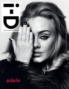 Adele en couverture de I-D magazine