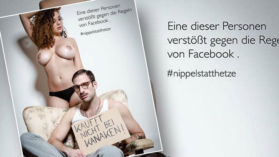 #NippelstattHetze: Diese Aktion zeigt uns, was auf Facebook gewaltig schief läuft