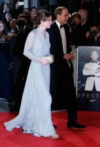 Kate et William à la première de Spectre