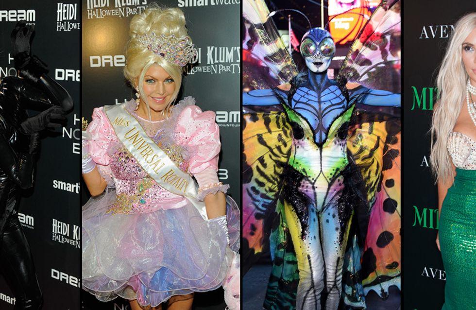 Effrayants, glamour, originaux… Les looks les plus fous des stars pour Halloween (Photos)
