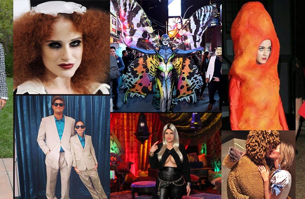 A Definitive Ranking Of The Top Ten Celebrity Halloween Costumes