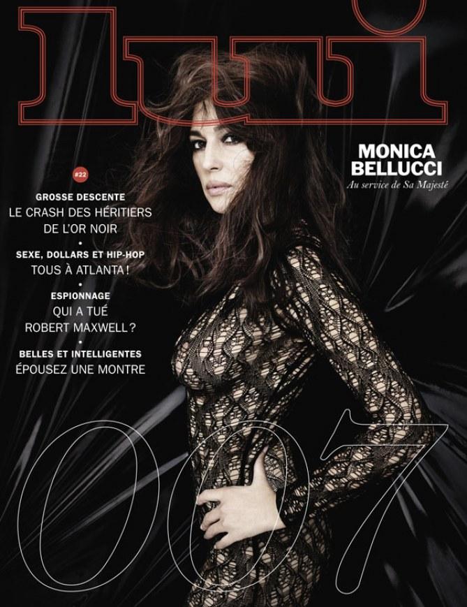 Monica Bellucci pour LUI