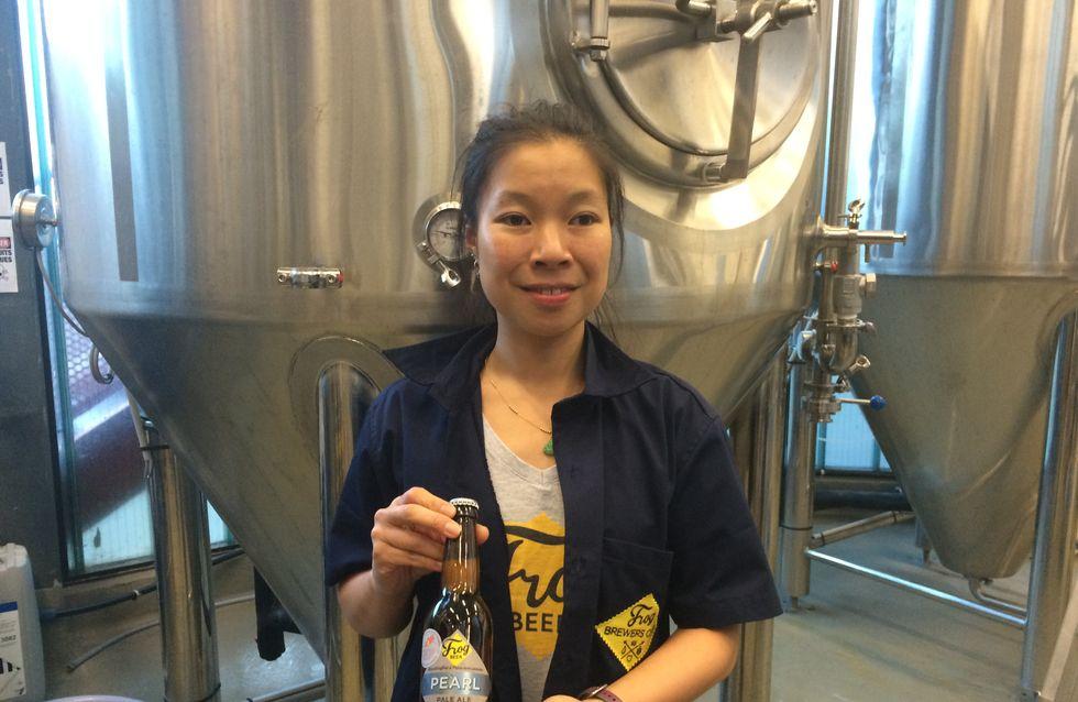 De la bière maison à la brasserie Frog, rencontre avec Eugénie Mai-Thé