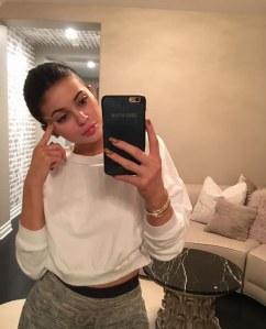 Kylie Jenner au naturel