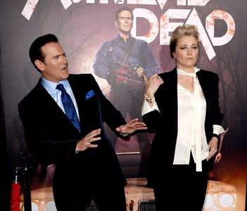 Lucy Lawless et Bruce Campbell