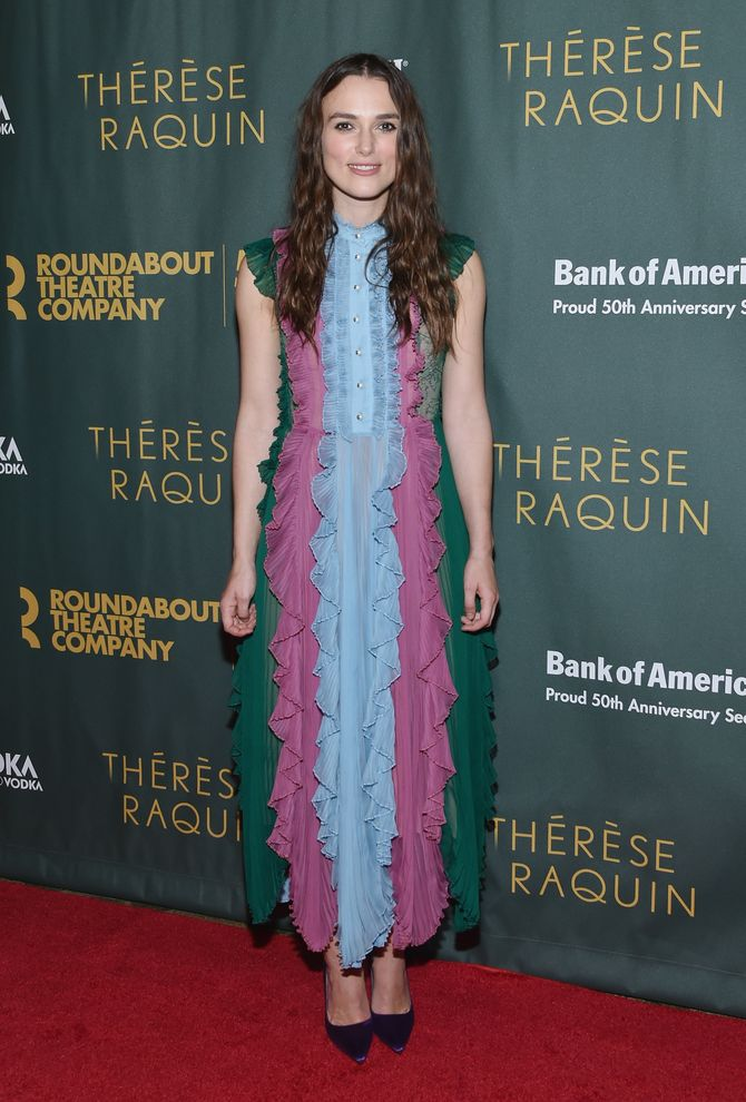 Keira Knightley le 29 octobre à New York