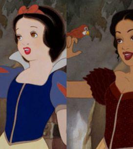 Come sarebbero le principesse Disney se appartenessero a un'altra etnia?