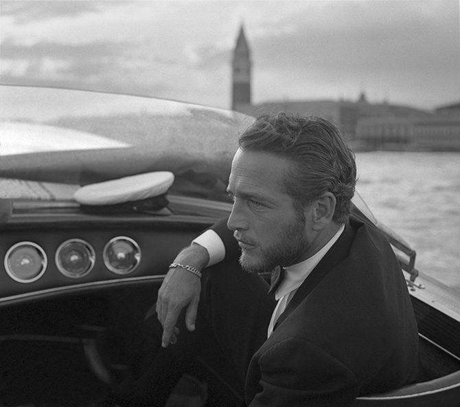 Paul Newman en Venecia (1963)