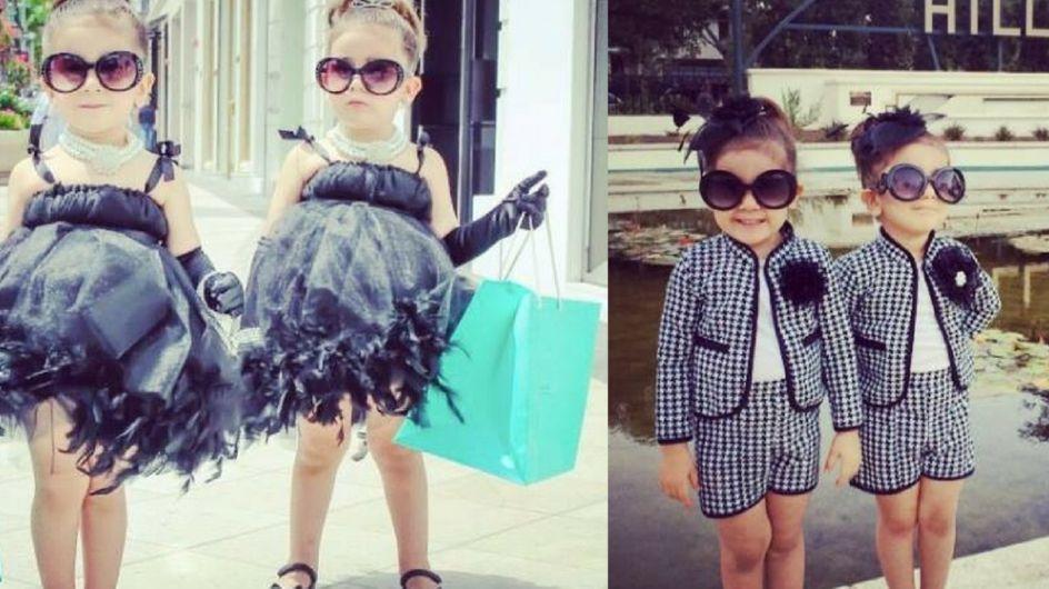 Bella e Chloe: le gemelline più fashion di sempre