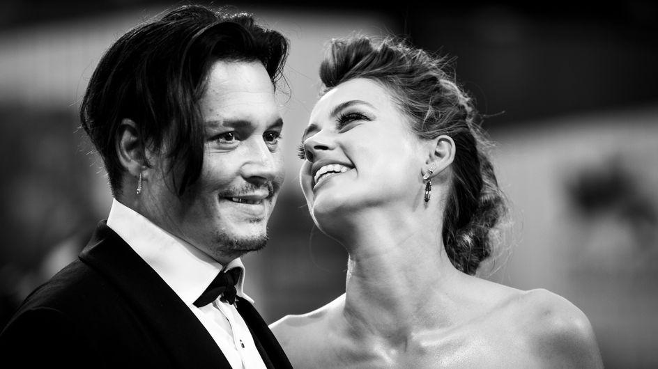 Johnny Depp et Amber Heard couple glamour et rétro sur le tapis rouge (Photos)