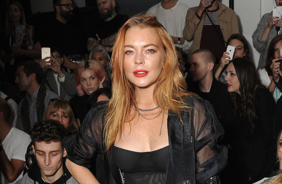 Lindsay Lohan sans maquillage sur la Toile (Photo)