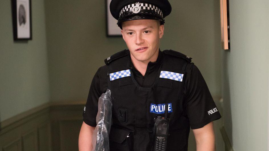 Hollyoaks 09/11 - Esther doesn't believe Trevor is the Gloved Hand Killer