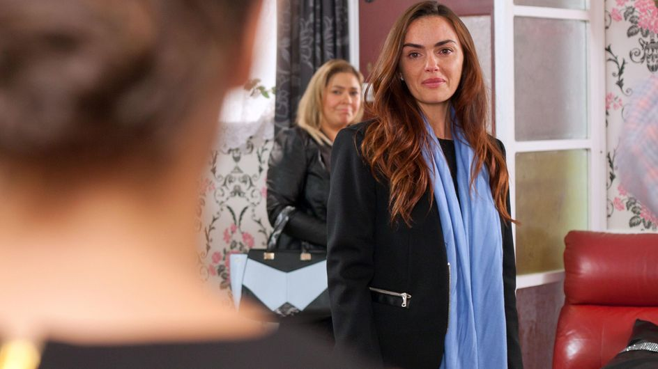 Hollyoaks 13/11 - The McQueens are surprised by the arrival of a familiar face