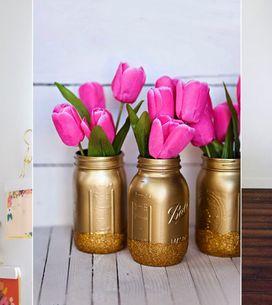 Glänzende Aussichten: 7 coole Hacks mit Gold-Spray, um deine Wohnung zu verschön