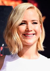 Jennifer Lawrence et sa nouvelle coupe.