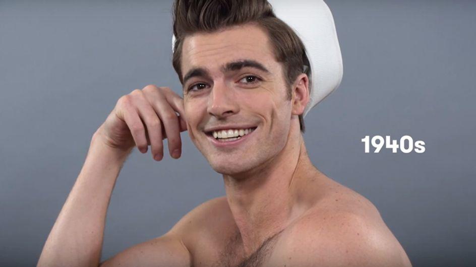 A evolução de estilo e beleza do homem nos últimos 100 anos