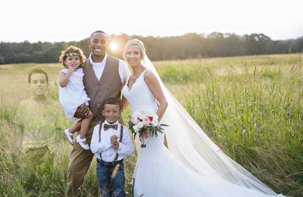 Ihr Sohn ist verstorben - doch bei ihrer Hochzeit ist er dennoch an ihrer Seite