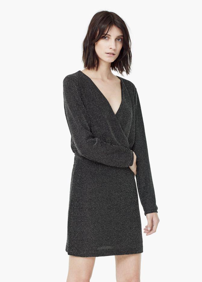 Glänzendes Kleid von Mango, 49,99 €