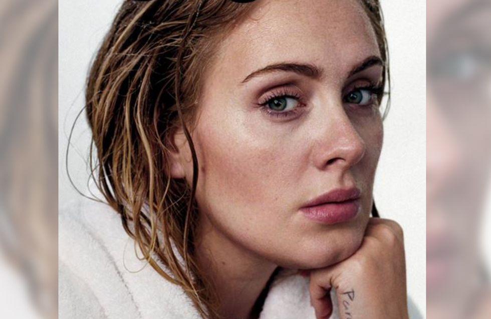 So natürlich wie nie: Sängerin Adele zeigt sich ganz ohne Make-up und Photoshop