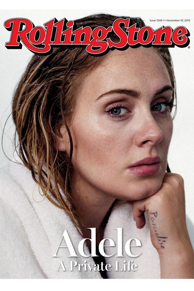 Adele en Une de Rolling Stone.