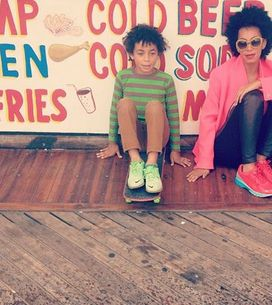 Solange Knowles défend son fils insulté sur Instagram (Photo)