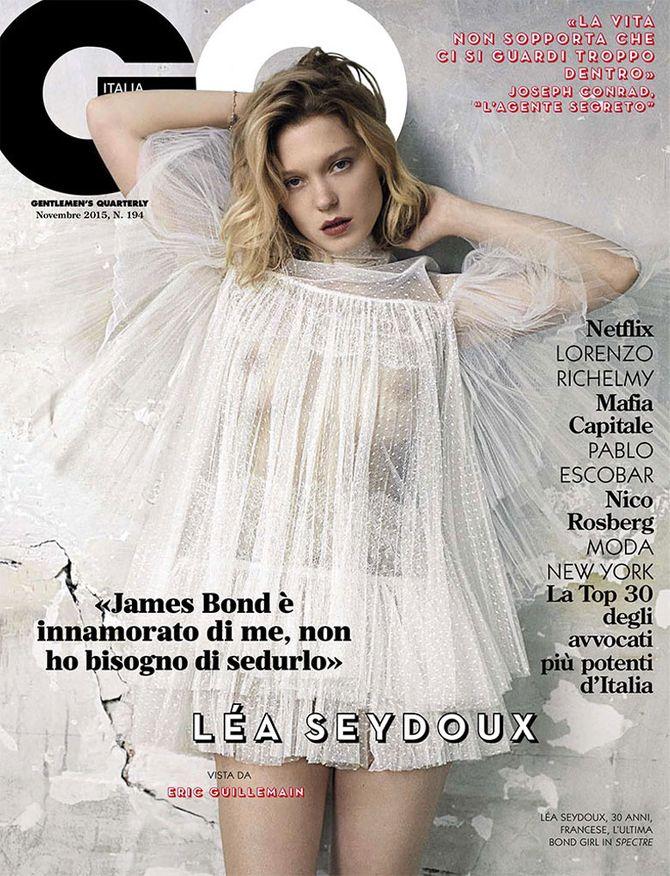 Léa Seydoux pour GQ
